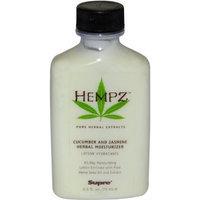 Cucumber and Jasmine Herbal Moisturizer by Hempz, 2.5 Ounce