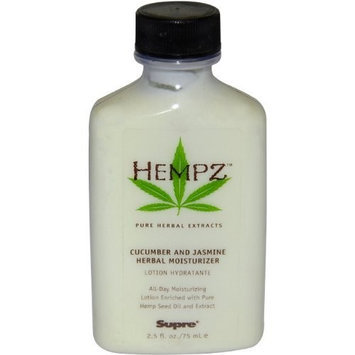 Cucumber and Jasmine Herbal Moisturizer by Hempz, 2.5 Ounce