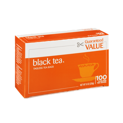 Ahold Black Tea Tagless Tea Bags - 100 CT