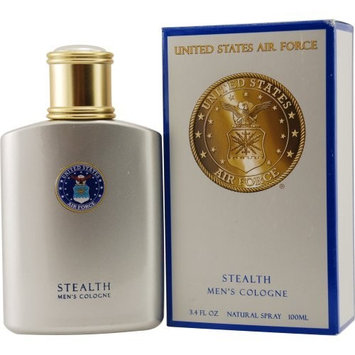US Air Force by Parfumologie Stealth Cologne Spray for Men, 3.4 Ounce