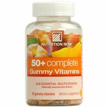Nutrition Now 50 plus Complete 50 Gummy Vitamins