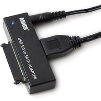 Fantasia Trading Anker 68UPSATAA-02BU USB 3.0 SATA Adapter Cable for 2.5