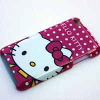 hello kitty cute purple Case Cover For apple ipod touch itouch 4 4G