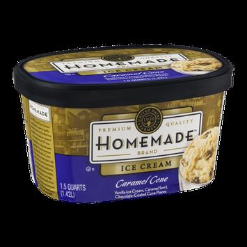 United Dairy Farmers Homemade Brand Ice Cream Caramel Cone