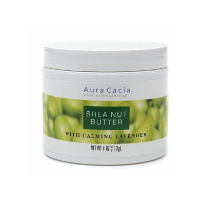 Aura Cacia Shea Nut Butter with Calming Lavender