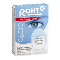 Rohto Arctic Redness Relief Lubricant Eye Drops