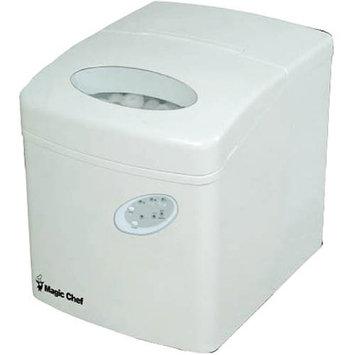 Magic Chef MAGIC CHEF MCIM22TW 27-lb Portable Mini Ice Maker (White) MCPMCIM22TW