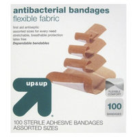 up & up up&up Antibacterial Flexible Fabric Bandages