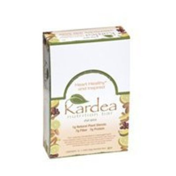 Kardea Nutrition Kardea Chai Spice Bars 1.34oz 15count- Hearth Healthy, High Fiber, Lower Glycemic, Delicious