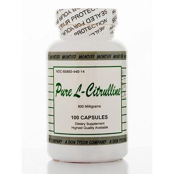 Pure L-Citrulline 600 mg 100 caps by Montiff