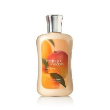 Bath Body Works Bath and Body Works Signature Collection Mango Mandarin Body Lotion, 8 oz, new bottle style