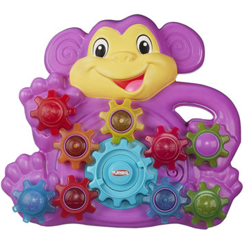 Playskool Stack n Spin Monkey Gears Toy