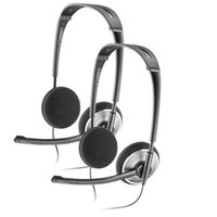Plantronics Audio 478 Noise-Canceling Corded Headset 2 Pack
