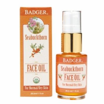 Badger Face Oil, Seabuckthorn, 1 fl oz