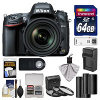 Nikon D610 Digital SLR Camera & 24-85mm VR AF-S Zoom Lens with 64GB Card + 2 Batteries & Charger + 3 Filters + Remote + Accessory Kit