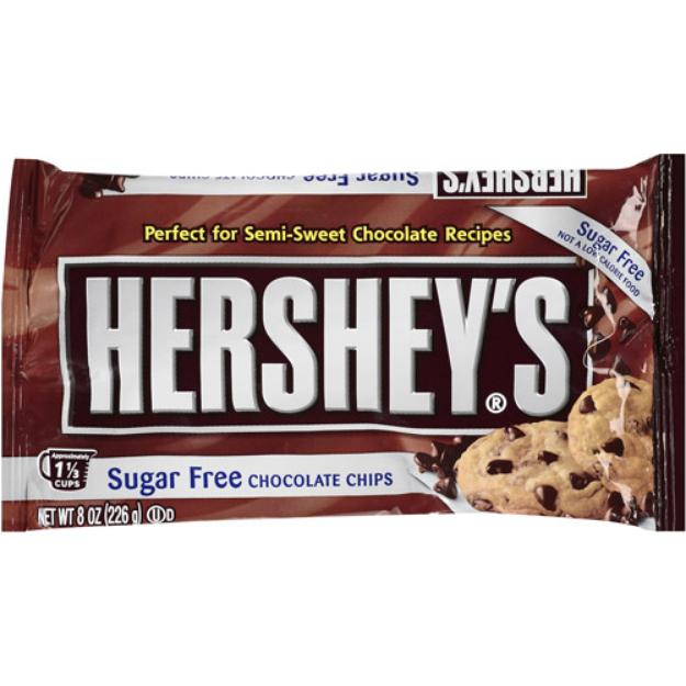 Hershey's Sugar Free Semi-Sweet Baking Chips