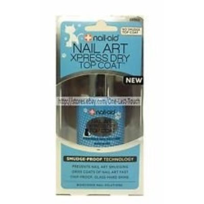 Nail-Aid Nail Art Xpress Dry Top Coat No Smudge Nail Polish