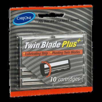 CareOne Twin Blade Plus Twin Blade Cartridges - 10 CT