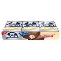 Klondike Cheesecake with a Swirl of Strawberry Ice Cream Bars 6 ct
