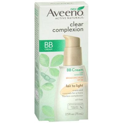 Aveeno® Clear Complexion Bb Cream Fair to light