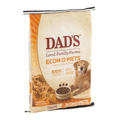 Dad's Econ-O-Mets Beef Dry Dog Food