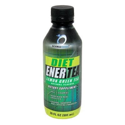 Science Foods Diet Ener Tea, Lemon Green Tea , 20 - 20 fl oz (591 ml) bottles