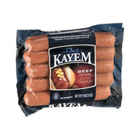 Kayem Hot Dogs Beef