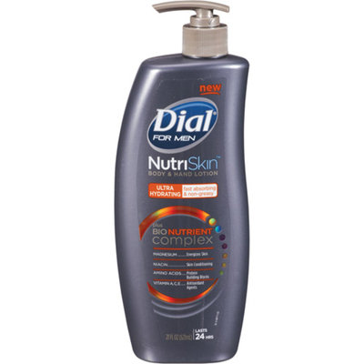 Dial® NutriSkin Replenishing Hand and Body Lotion