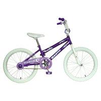 Mantis Girl's Ornata 20 Bike - Purple/White