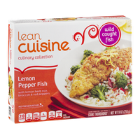 Lean Cuisine Culinary Collection Lemon Pepper Fish