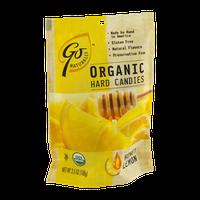 Go Naturally Organic Hard Candies Honey Lemon