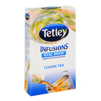 Tetley Infusions Real Brew Classic Tea Liquid Iced Tea Stix - 6 CT
