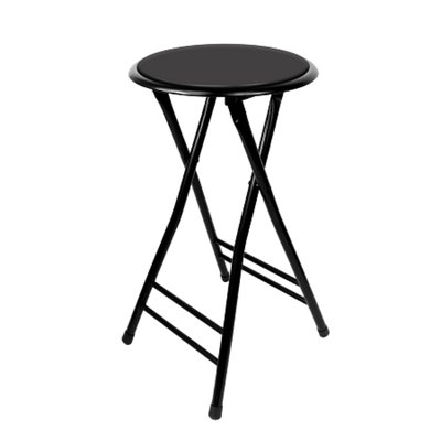 Trademark Tools 24 Inch Cushioned Folding Stool Trademark Home Collection