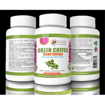 NutriVida 4 oz Green Coffee Bean Extract Capsules