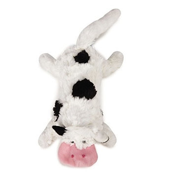 Pet Edge Dealer Services Grriggles Farm Friend Unstuffies Dog Toy LG Cow