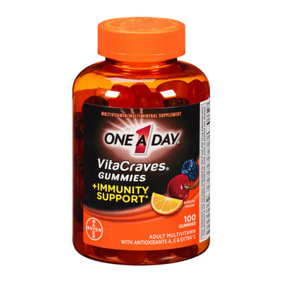 One A Day VitaCraves Gummies + Immunity Support Adult Multivitamin