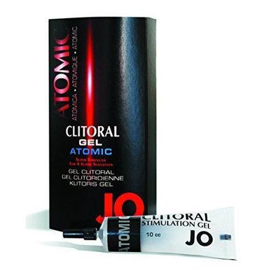 System Jo Jo Clitoral Atomic Clitoral Gel, 10 cc Box