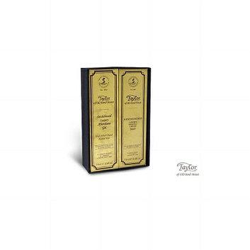 Taylor of Old Bond Street Sandalwood Luxury Shaving Cream & Aftershave Gel Gift Box