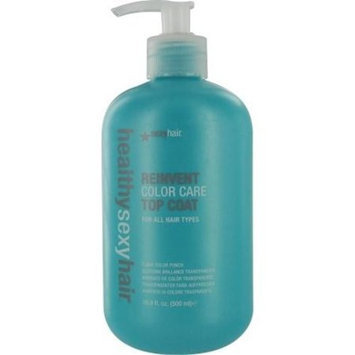 Reinvent Color Care Top Coat for All Hair Types Sexy Hair 16.9 oz Treatment Unisex