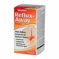 Natural Care Reflux-Away 60 Capsules