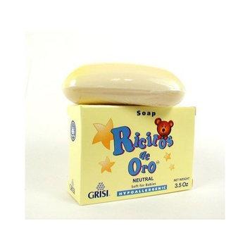 Grisi Ricitos De Oro Hypoallergenic Baby Soap - Neutral 3.5 Oz.