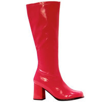 Buy Seasons Gogo Red Adult Boots - 9.0