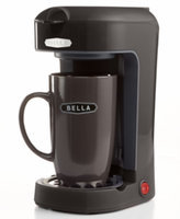 Bella Single-Serve, One-Cup Coffee Maker - Red