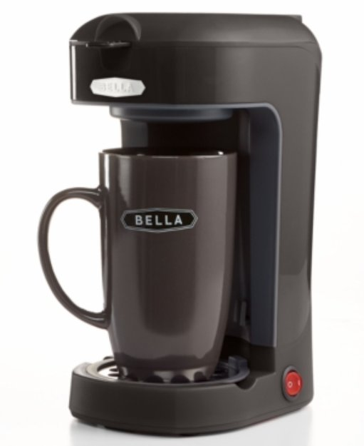 Bella Single Serve Coffee Maker At Target : Bella Single-Serve, One-Cup Coffee Maker - Red Reviews Find the Best Coffeemakers Influenster