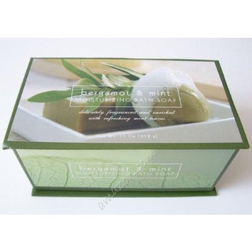 Commonwealth Soap & Toiletries Bergamot & Mint Moisturizing Boxed Bath Soap