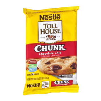 Nestlé Toll House Chunk Chocolate Chip Cookie Dough - 24 CT