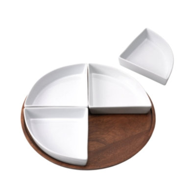 The Cellar Acacia Wood Lazy Susan