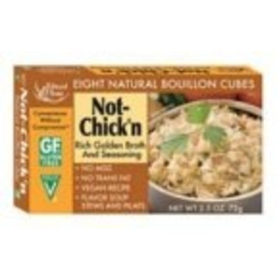 Edward & Sons Not-Chick'n Bouillon Cubes, 2.5-Ounce Boxes (Pack of 12)