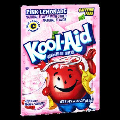 Kool-Aid Pink Lemonade Caffeine Free Unsweetened Soft Drink Mix
