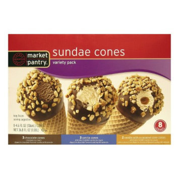 market pantry MP ICE CREAM 8 CT VARIETY CONE